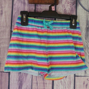 girls multicolored striped shorts TCP 7/8 F4